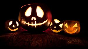 Halloween töklámpás